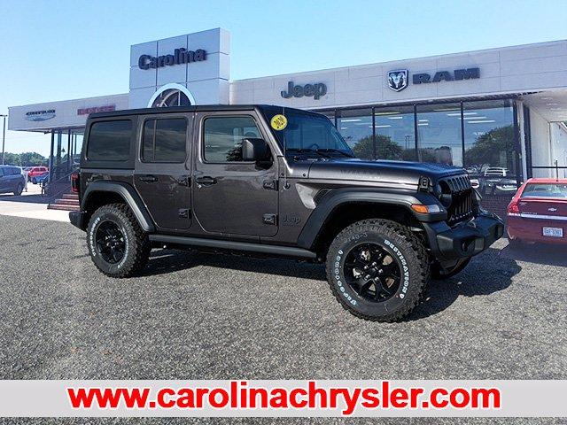 New 2020 Jeep Wrangler Willys Sport Utility In Elizabeth City C11394 Carolina Chrysler Dodge Jeep Ram