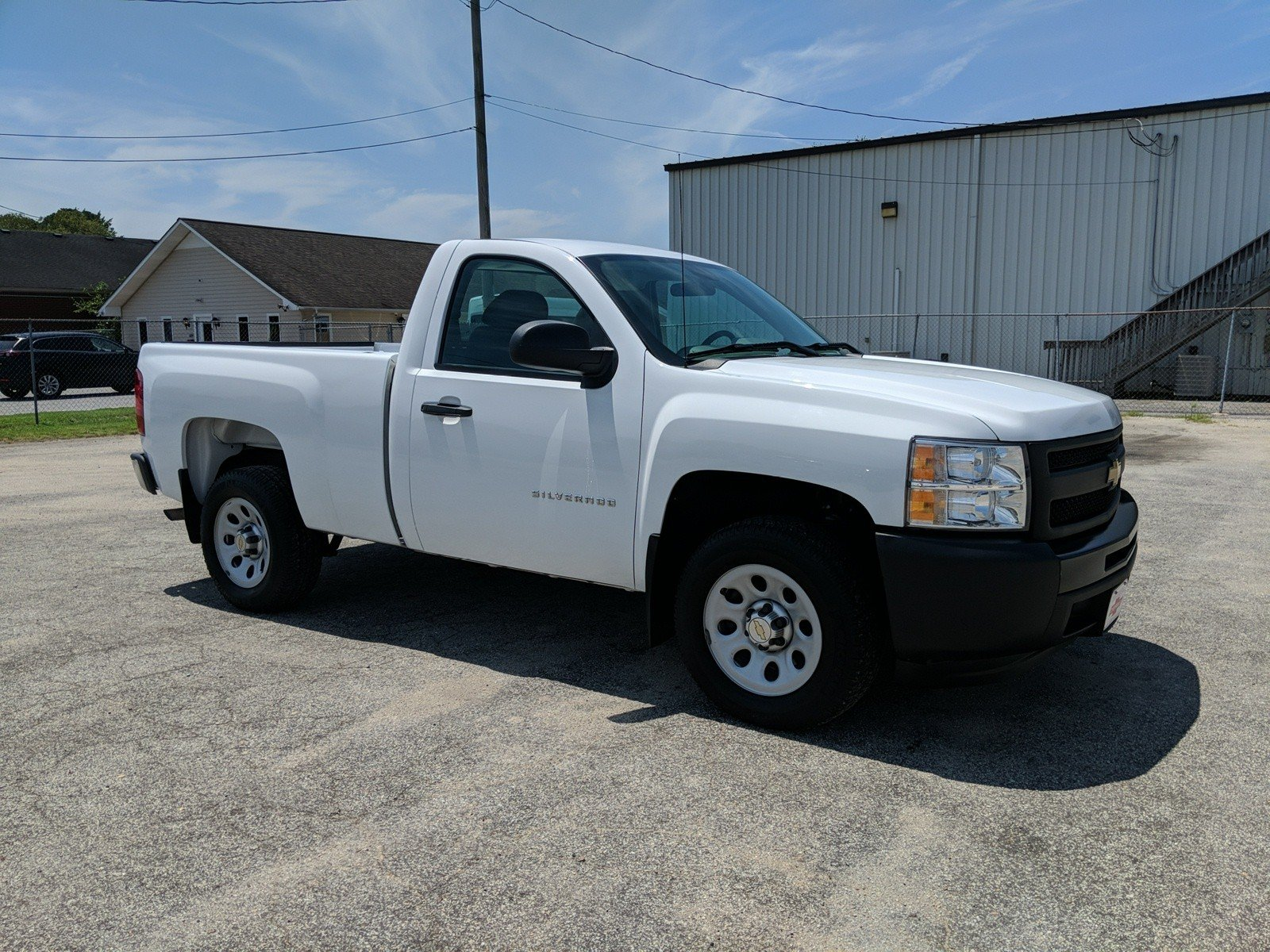 Pre-Owned 2013 Chevrolet Silverado 1500 Work Truck