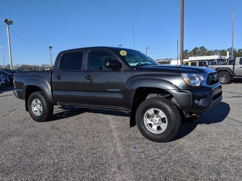 Pre-Owned 2013 Toyota Tacoma DBL CAB 4WD V6 AT